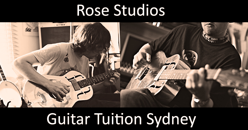 Rose Studios Guitar Tuition Sydney